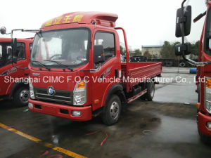 Sinotruk Cdw 3t Small Cargo Truck with Isuzu Engine