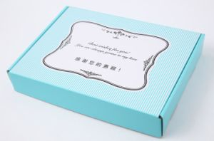 Custom Paper Packaging Box/Shoes Box/Garment Box Manufacturer pictures & photos