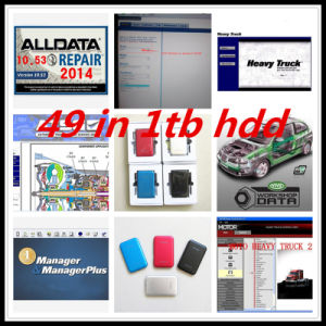 Auto Date Repair Software 49 in 1tb HDD Alldata Repair Software V10.53 + Mitchell on Demand +Moto Heavy Truck+Ksd 49 In1 1tb HDD