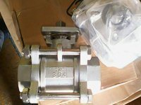 1PC DIN Flanged Type Ball Valve pictures & photos
