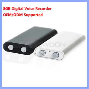 World Smallest 8GB Professional Digital Voice Recorder with MP3 Player Support OEM Logo pictures & photos