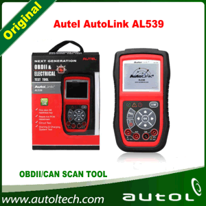 Original Autel Al 539 Diagnostic Tool Al539 Obdii and Electrical Test Tool Al539 Update Online Autel Autolink Al539 pictures & photos