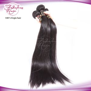 Straight Human Hair Extension Brazilian Virgin Hair Unprocessed Remy Hair pictures & photos