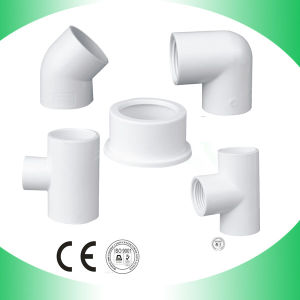 PVC Coupling Dwv Pipe Coupling ASTM D2665 pictures & photos