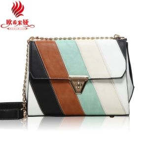 Custom Made PU Leather Women Designer Lady Fashion Bag (XD150404)