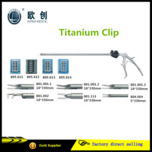Reusable Laparosccopic Titanium Clip Applicator pictures & photos