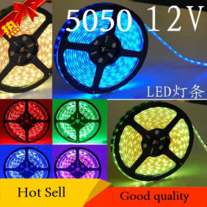 12V SMD5050 Water-Proof Flexible Strip Light (60 LED/m) pictures & photos