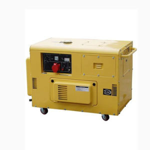 10kVA Three Phase Silent Type Portable Diesel Generators (ZDE12T3) pictures & photos