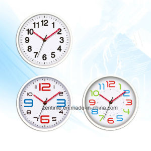 Quartz Analog Wall Clock with LED Clock Hand pictures & photos