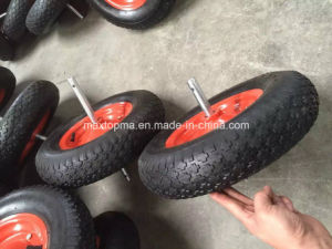 400-8 China Factory pneumatic Rubber Wheel pictures & photos