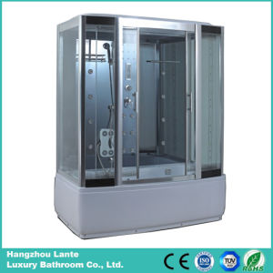 Rectangle Steam Shower Cubicle with Sliding Glass Door pictures & photos