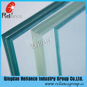 6.76mm Laminated Glass / PVB Glass /Layered Glass (Clear, Red, White, Blue, , Black, Bronze) pictures & photos