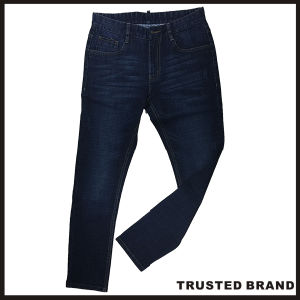 OEM Manufacturer Wholesale Man Blue Jean Pants (T029)