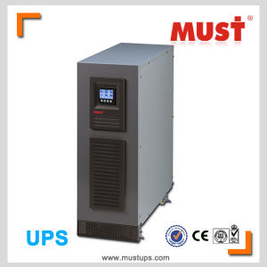 Pure Sine Ware Zero Transfter Time High Technology 6kVA 10kVA 15kVA 20kVA Online UPS pictures & photos
