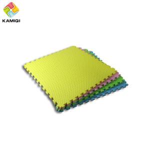 high quality colorful kamiqi 100 eva foam floor matsleaf texture style