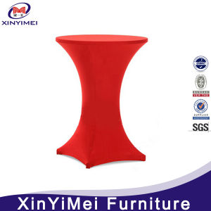 Wholesale Spandex Cocktail Table Cover for Wedding pictures & photos
