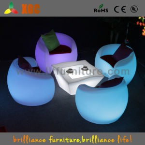Illuminated Rechargeable LED Plastic Furniture