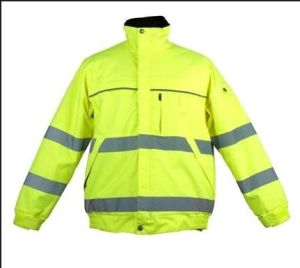 Surveyor Safety Jacket with Back Pocket pictures & photos