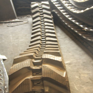 300*71k Construction Machinery Rubber Track pictures & photos
