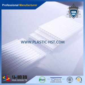 2015 New Virgin Transparent Polycarbonate Sheet for Building Material pictures & photos