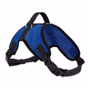 Saddle Durable Mesh Fabric Sport Pet Dog Harness for Dogs pictures & photos