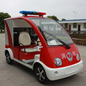 China OEM 2 Seats Fire Emergency Mini Electric Fire Truck (DVXF-3) pictures & photos