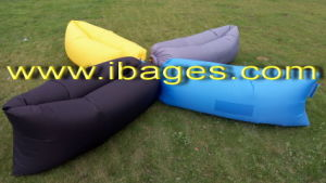 Ripstop Nylon Inflatable Air Sleeping Bag Beach and Outdoor (A1009) pictures & photos