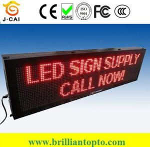 P10 Outdoor Red Digital Advertising LED Display Board pictures & photos