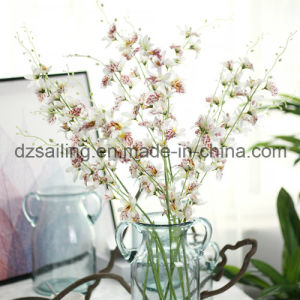 Wholesale 27 Heads Orchid Artificial Flower for Decoration (SW06732) pictures & photos