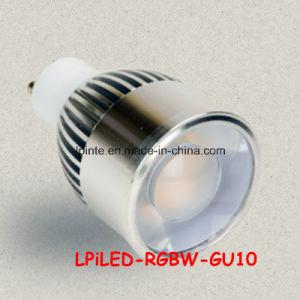 MR16 GU10 E27 RGBW LED Spotlight RGB pictures & photos