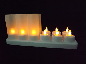 Salable LED Flameless Tealight Candle for Christmas pictures & photos
