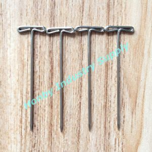 51mm Fashion Flat T Shaped Steel Hijab Pins
