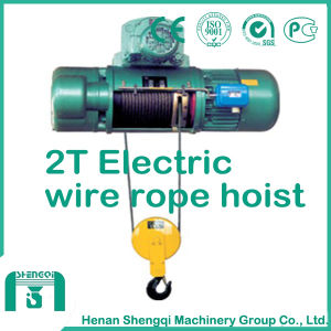 Mini Wire Rope Hoist CD&Md Type Electric Hoist pictures & photos
