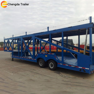 2 Axles 3axles Car Carrier Semi Trailer for SUV pictures & photos