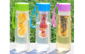 New Arrival 600ml Plastic Water Bottle, Tritan Bottle With Strap, PCTG Water Bottle