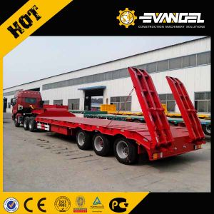 80 Ton 3 Axles Low Bed Semi Trailer pictures & photos