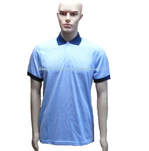 Jersey Polo Shirts in Blue for Men pictures & photos