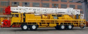 Hot Sell Workover Rigs 650-800HP for Oilfield