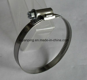 No Welding Worm Drive Hose Clamp pictures & photos