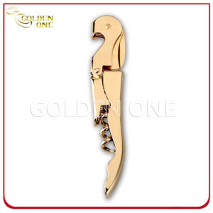 Factory Supply Wood Wine Bottle Opener with Metal Pulltap pictures & photos
