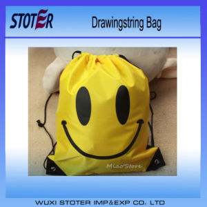 Hot Sale Custom 100% Organic Cotton Muslin Drawstring Bag
