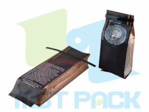 Coffee Bags with Tin Tie; Gusset Pouch pictures & photos