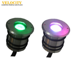 24V 1W/3W Stainless Steel IP68 Color Changing RGB/RGBW Swimming Pool Lamp pictures & photos