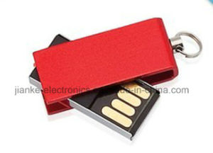 Hot Selling 4GB 8GB 16GB 32GB Swivel USB Flash Drive with Custom Logo (307) pictures & photos