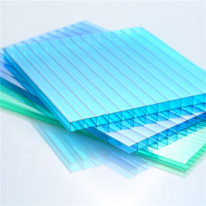 Lexan Polycarbonate Twin Wall Roofing Sheet pictures & photos