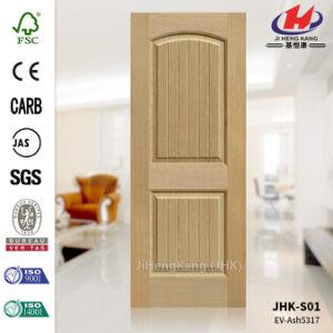 EV-Ash MDF Lamilated Veneer Door Panel pictures & photos