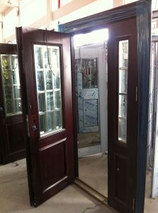 Steel Glass Door pictures & photos
