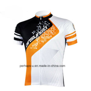 Anti-UV Unisex Cycling Jersey with Sublimation Print pictures & photos