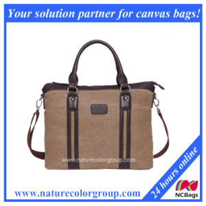Causal Canvas Business Handbag for Laptop pictures & photos