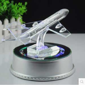 Customize Crystal Glass Plane Model for Decoration (KS 731260) pictures & photos